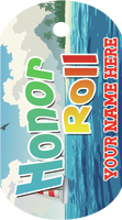 Honor Roll Brag Tag - Boat in water