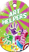 Art Helpers Brag Tag