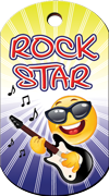 Rock Star Brag Tag