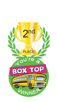 Box Top 2nd Place Winner Brag Tag