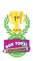 Box Top 1st Place Brag Tag