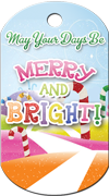 Merry and Bright Brag Tag