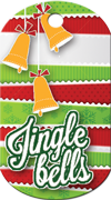 Jingle Bells Brag Tag