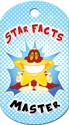 Star Facts Master Brag Tag