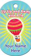 Up Up and Away with PTA - Hot air balloon